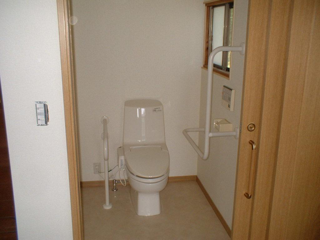 介護用トイレを新しく作りたい!