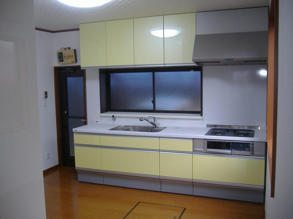 狭くて使い勝手の悪いキッチンをかえたい。