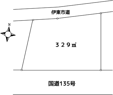 大和建設 伊東市吉田土地400万円