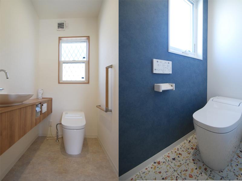 玄関と浴室は共用の二世帯住宅